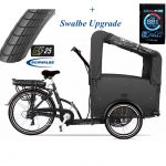 troy-bakfiets Elektrisch Swalbe upgrade-7speed-zwart-driewieler-481wh