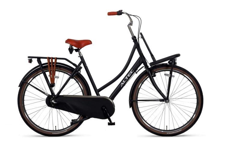 Altec-Dutch-Damesfiets-28inch-Transportfiets-N3-50cm-Zwart