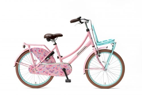 Popal-Daily-Dutch-Basic-meisjesfiets-22-inch-mint-roze