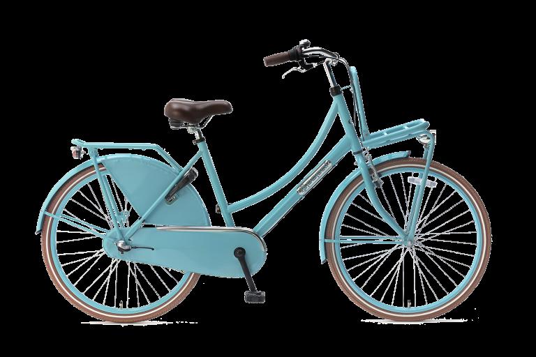 Popal meisjesfiets 26 inch met versnellingen daily dutch 26 inch N3 Meisjesfiets Transportfiets 26 inch met versnellingen Turquoise