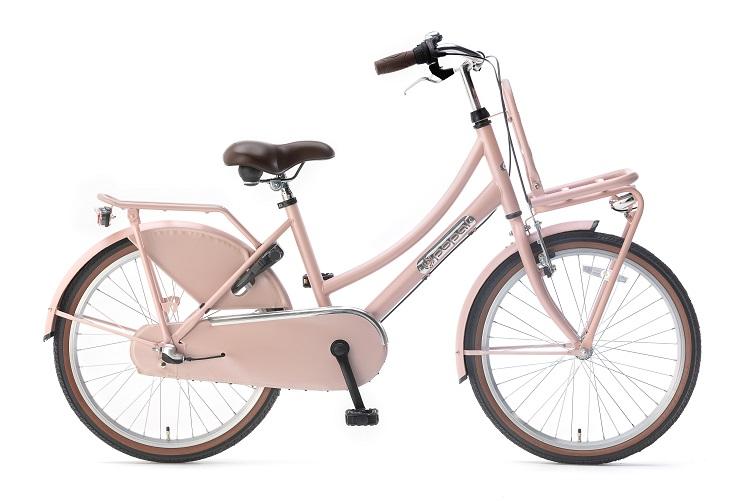 Popal-Daily-Dutch-Basic-meisjesfiets-22-inch-Zalm Roze