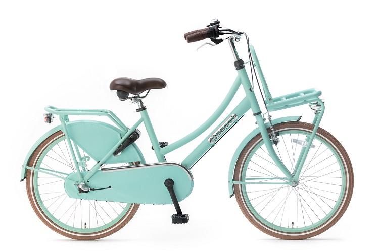 Popal-Daily-Dutch-Basic-meisjesfiets-22-inch-mat groen