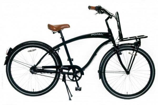 Beach Cruiser Popal Hawk Cruisefiets 26 inch wit N3