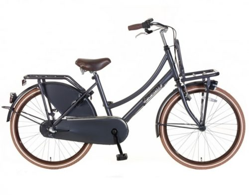 Meisjes Transportfiets Popal Daily Dutch N3 Basic Plus 24/26 inch Petrol Blauw