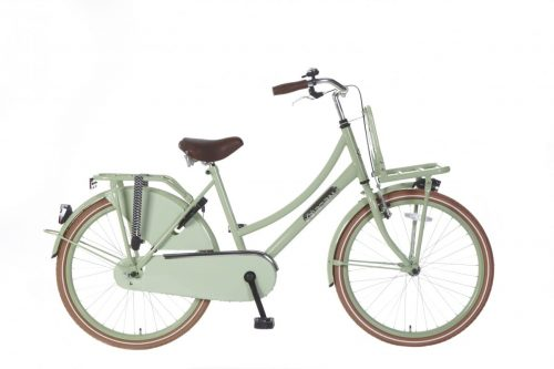 Meisjes Transportfiets Popal daily dutch basic 24 inch groen