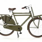 Transportfiets Popal Daily Dutch 3-Speed Herenfiets nexus 28 inch: Groen