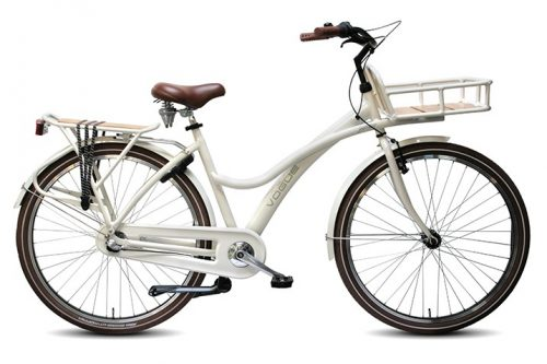 Vogue jumbo dames transportfiets creme wit