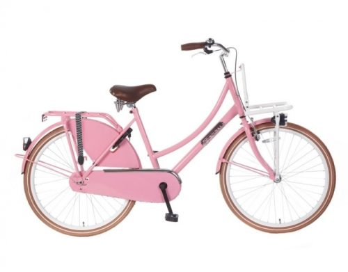 Transportfiets Popal 26 inch Roze Daily Dutch