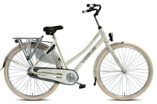 Vogue Legend Dames Stadsfiets 53cm 28 inch: creme