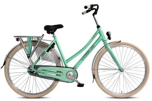 Vogue Legend Dames Stadsfiets 53cm 28 inch: Mint Groen