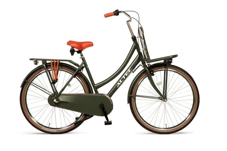 Altec-Dutch-Damesfiets-28inch-Transportfiets-N3-53cm-Army-Green
