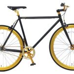 Vogue Loco Fixed Gear 28 inch mat-zwart goud