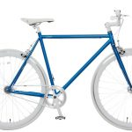 Vogue Loco Fixed Gear 28 inch Blue White