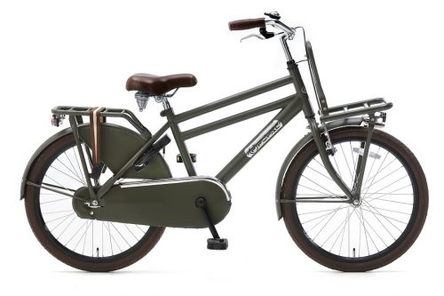 Popal Daily Dutch Basic Jongensfiets 22 inch army groen