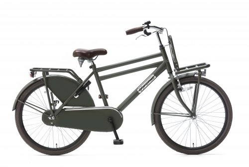Popal Daily Dutch Basic Jongensfiets 24 en 26 inch army green