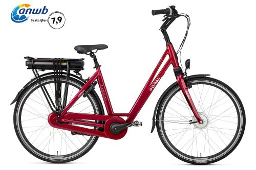 Popal E-Volution 5.0 Elektrische Damesfiets 28 inch Wine Red