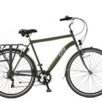 popal city 6 sp herenfiets army green (Custom)