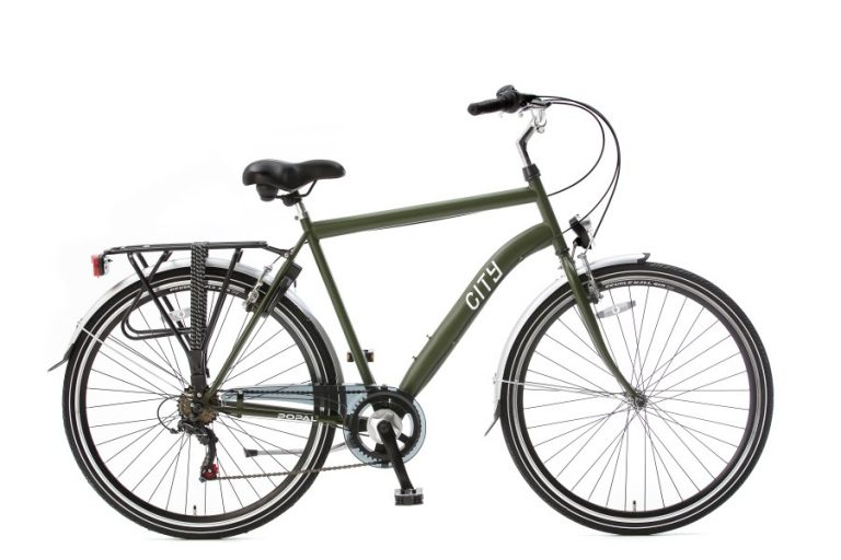 popal city 6 sp herenfiets army green