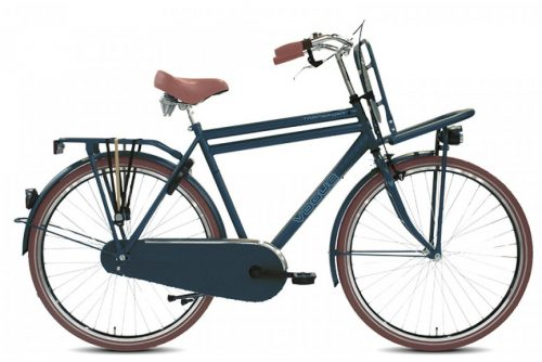 vogue transporter plus heren transportfiets jeans blauw