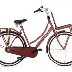 Popal Daily Dutch Basic plus 28 inch dames Transportfiets oak Red