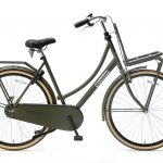 Popal Daily Dutch Basic Damesfiets 28inch Transportfiets Army groen