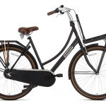 Popal Daily Dutch Basic Damesfiets 28inch Transportfiets Mat Zwart