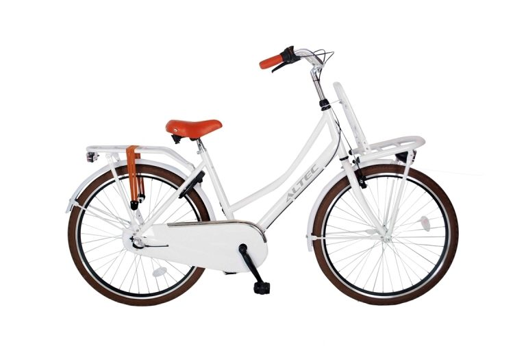 Altec-Dutch-meisjesfiets-26inch-Transportfiets-N3-Snow-White