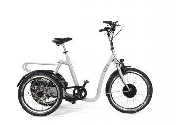 Huka-City driewieler fiets voor senioren