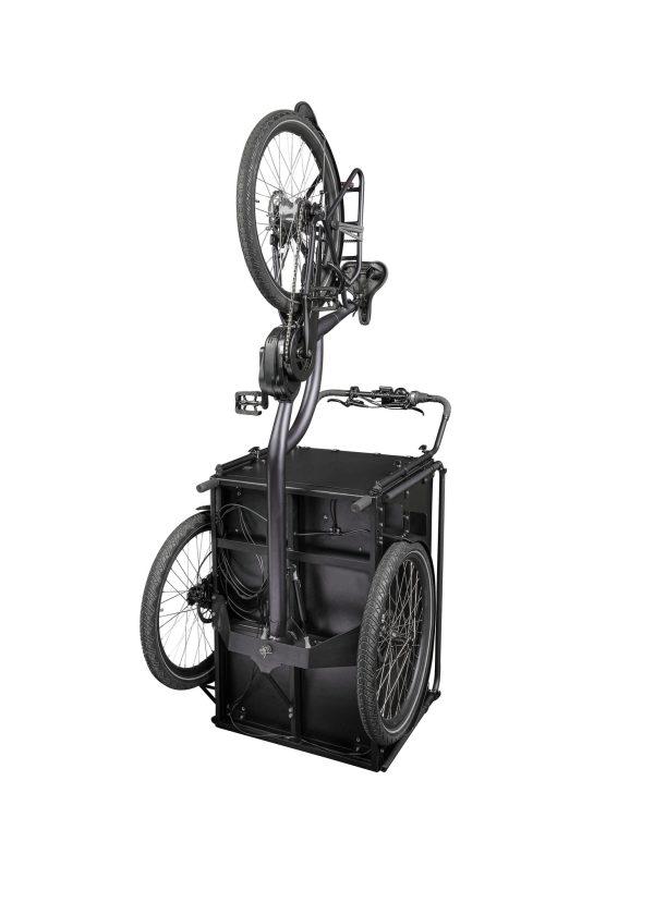 Bimas E-Cargo 3.3 elektrische bakfiets zwart middenmotor bafang zwart 2