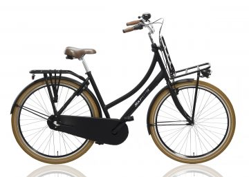 Saphir-Transportfiets-Dames-28inch-53cm-Nexus-3-Alloy-Mat-Zwart-1