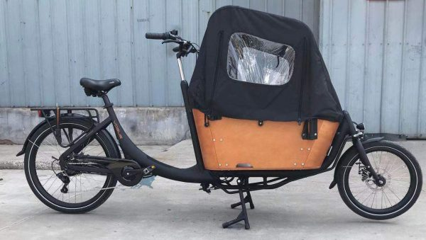 Vogue Superior 2 elektrische bakfiets twee wieler 7speed zwart bruin